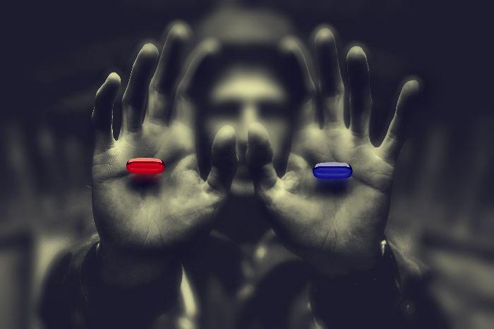 blaue oder rote pille